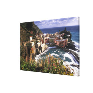 Beautiful Village of Vernazza in the Cinque Canvas Print