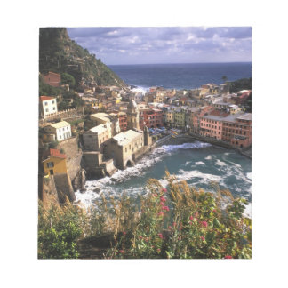 Beautiful Village of Vernazza in the Cinque Notepad