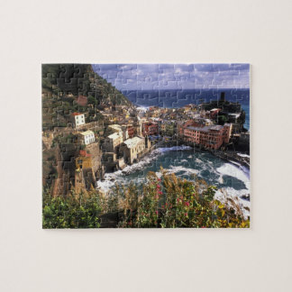 Beautiful Village of Vernazza in the Cinque Puzzle