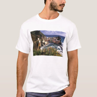 Beautiful Village of Vernazza in the Cinque T-Shirt