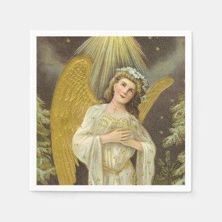 Beautiful Vintage Angel paper napkin