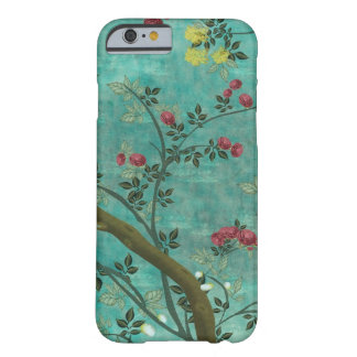 Beautiful vintage antique blossom tree butterflies barely there iPhone 6 case