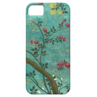 Beautiful vintage antique blossom tree butterflies iPhone 5 cases