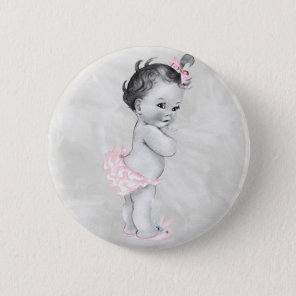 Beautiful Vintage Baby Girl Badge
