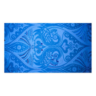 beautiful vintage birds blue pattern image print business card template