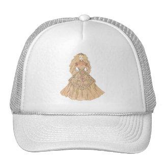 Beautiful Vintage Bride Trucker Hats