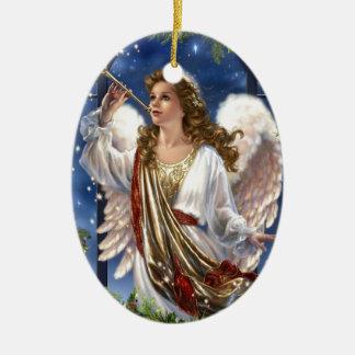 Beautiful Vintage Christmas Angel Christmas Ornament