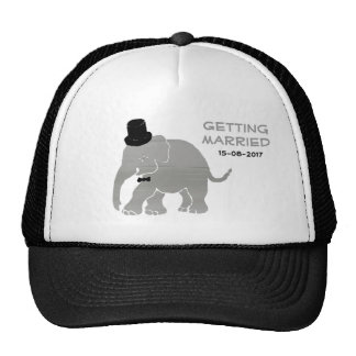 Beautiful Vintage Elephant Groom with Cylinder Cap