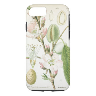 Beautiful vintage floral flower antique botanical iPhone 7 case