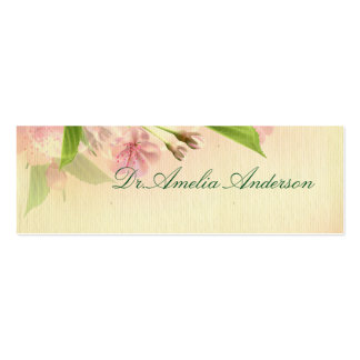 beautiful,vintage,floral,pattern,victorian,chic, Double-Sided mini business cards (Pack of 20)