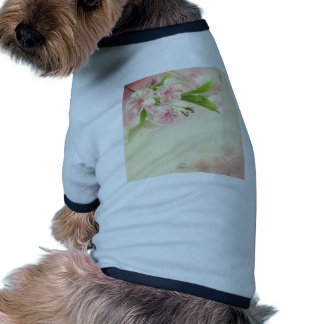 beautiful,vintage,floral,pattern,victorian,chic dog tee shirt
