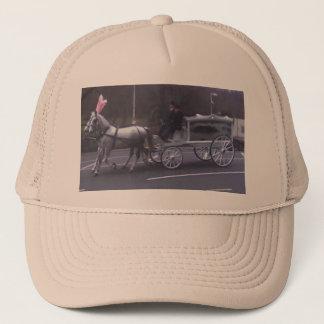 Beautiful Vintage Funeral Trucker Hat
