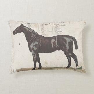 Beautiful vintage horse pillow