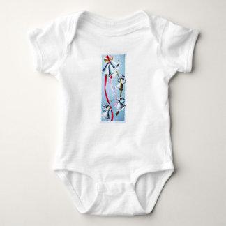 Beautiful Vintage Mid Century Mod Retro Angels Baby Bodysuit