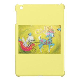 Beautiful Vintage Mid Century Reindeer iPad Mini Cases