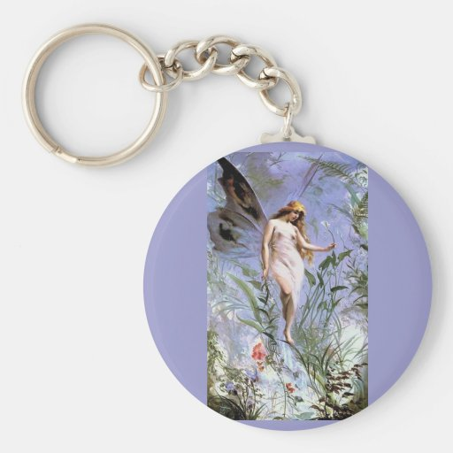 Beautiful Vintage Nature Fairy Key Chain