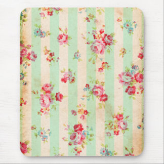 Beautiful vintage roses and other flowers mouse pad