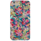 Beautiful vintage roses floral watercolors leopard barely there iPhone 6 plus case