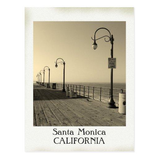 Beautiful Vintage Santa Monica Postcard!