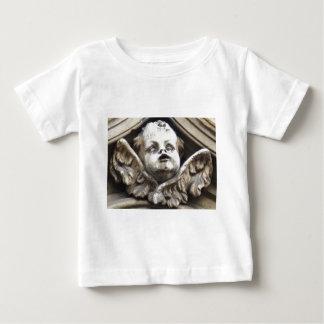 Beautiful Vintage Victorian angel statue Baby T-Shirt