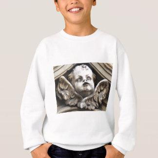 Beautiful Vintage Victorian angel statue Sweatshirt