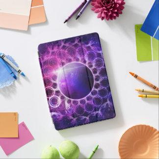 Beautiful Violet NASA Deep Dream Fractal Mandala iPad Pro Cover