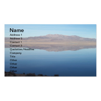 Beautiful Walker Lake Pack Of Standard Business Cards