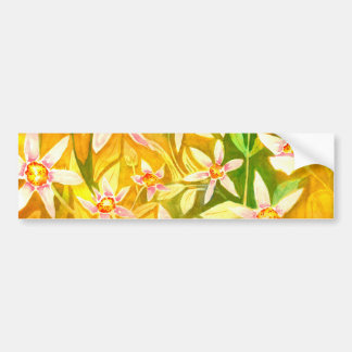 Beautiful Watercolour Bumper Stickers