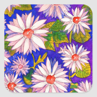 Beautiful Watercolour Daisy Stickers