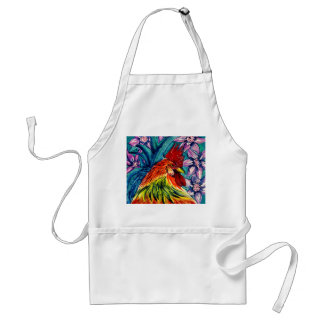 Beautiful Watercolour Rooster Apron