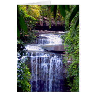 Beautiful  waterfall card