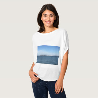 Beautiful waterfront image top for women