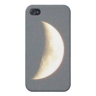 Beautiful Waxing Crescent Moon at Dusk iPhone 4/4S Case