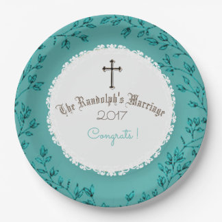 BEAUTIFUL-WEDDING-ANNIVERSARY-CELEBRATION-TEMPLATE 9 INCH PAPER PLATE