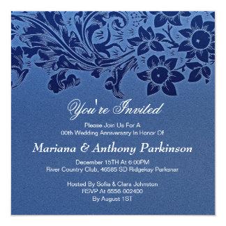 beautiful wedding anniversary invitation