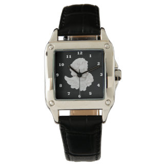 Beautiful White Angel Square wrist watch