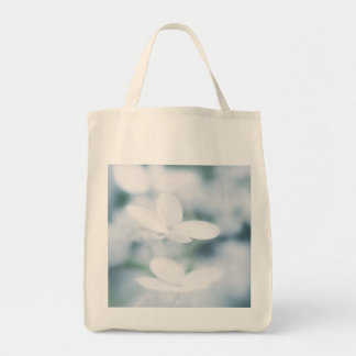 Beautiful white blossoms tote bag