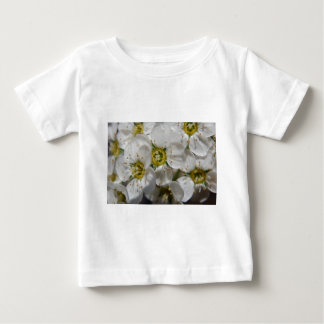Beautiful White Bolossom Flowers & Yellow centres Baby T-Shirt