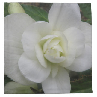 Beautiful White Carnation Napkin