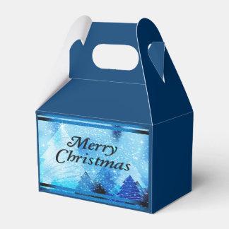 Beautiful, White Christmas Favour Box
