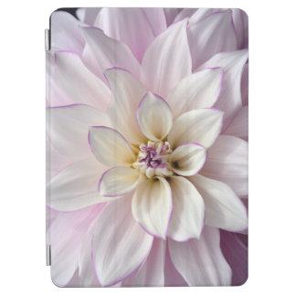Beautiful white dahlia flower iPad air cover