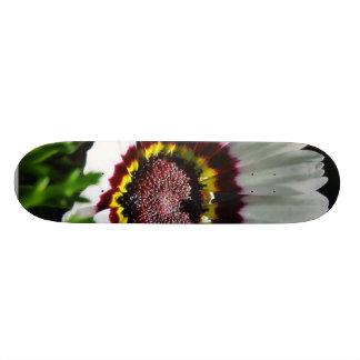Beautiful White Flower In Park Custom Skateboard