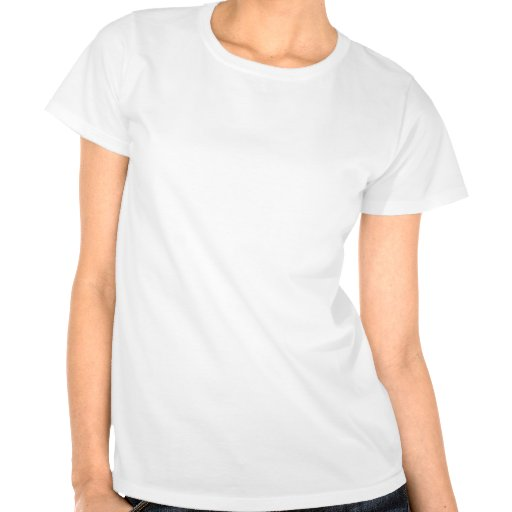 Beautiful white flower with an orange centre tee shirt