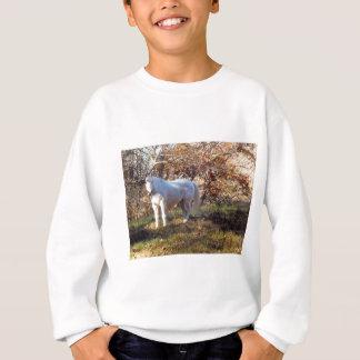 Beautiful White Horse Sweatshirt