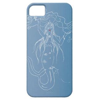Beautiful white mermaid phone case