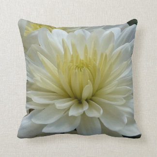 Beautiful White Mum Cushion