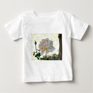 Beautiful white rose flower tshirts