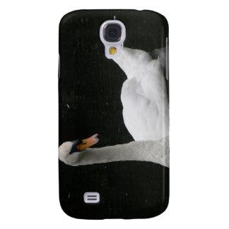 Beautiful White Swan  Galaxy S4 Case