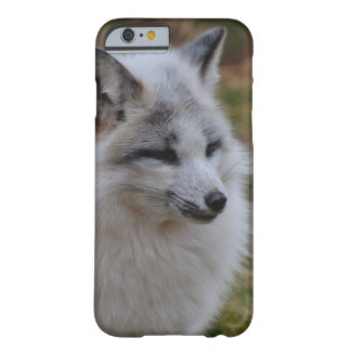 Beautiful White Swift Fox Barely There iPhone 6 Case