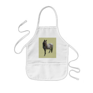 Beautiful Wild Dartmoor Horse Kids Apron